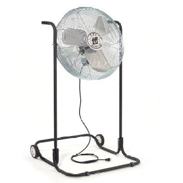 "TPI 24"" Industrial Workstation High Stand Floor Fan"