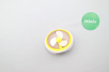Электроника - Украина: Мінівентилятор настільний    Колір: біло-жовтий Висота: 12 см Ширина