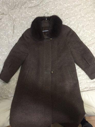 Продаю пальто зимнее, лама, размер 48-50 в Бишкек