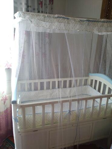97 объявлений: Продаю детскую кроватку  В комплекте всё имеется: - кроватка, - люлька
