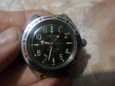 Амфибия советские часы восток восьмигранные сделано в ссср