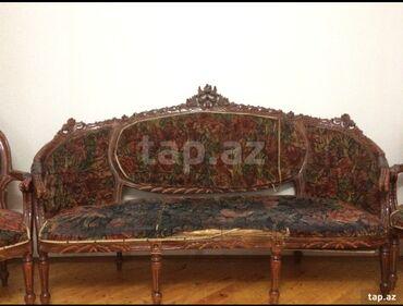 kreslo yatağı - Azərbaycan: Fıstıq ağacından olan çox möhkem, ağır divan kreslo satılır! Real