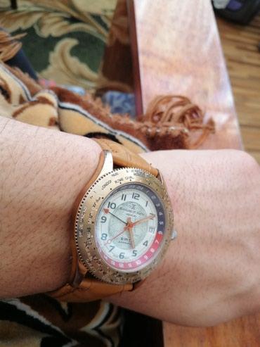 Мужские Бежевые Классические Наручные часы AM:PM в Бишкек - фото 3