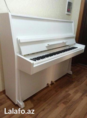 Bakı şəhərində Rusiya istehsalı Ukraina markalı piano satılır.  5 il zemanet