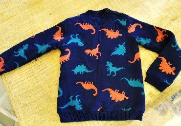 Dpam πουλόβερ χοντρό με Φλις επένδυση φορεμένο 1 φορά για παιδάκι 6-7
