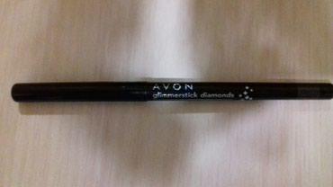 спрей avon в Кыргызстан: Карандаш для глаз. Черный с мерцающими блестками. Avon