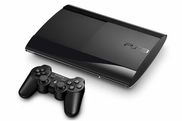 Playstation 3 super slim с двумя оригинальными джойстиками