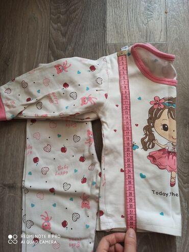 Пижама б.у состояние среднее,размеры указаны.6 мкр