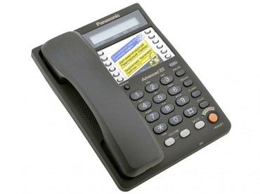 Маленькие-телефоны - Кыргызстан: Продаются офисные телефоны Panasonic KX TS 2365 новые. Коробка