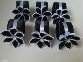 Prstenovi za salvete i ukras za svecu - Loznica