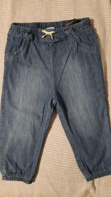 Postavljene farmerke - Srbija: Postavljene H&M pantalone farmerice samo oprane nisu stigle na red