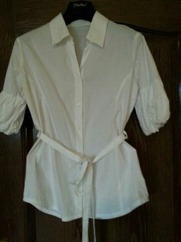 Pamučna košulja, jednom nošena, bez oštećenja, kao nova, veličina 38,  - Velika Plana