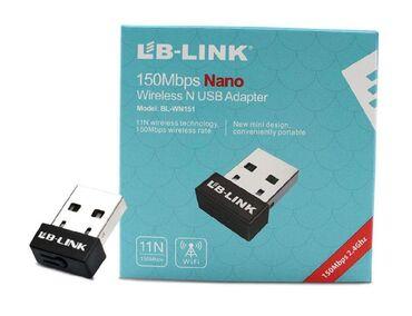 LB-link usb wifi qəbuledicisi. 150 Mbps köçürmə sürətilə. Say var