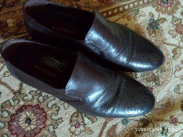 Продаю кожаную туфлю, новый, сам одевал только 2 дня, размер не