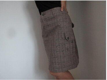 Braon - Srbija: Karirana braon suknja 40/42Veoma lep modni detalj prilagodljiva za
