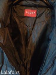 Muska zimska jakna sa kapuljacom roger. Vrlo dobra zimska jakna za - Belgrade