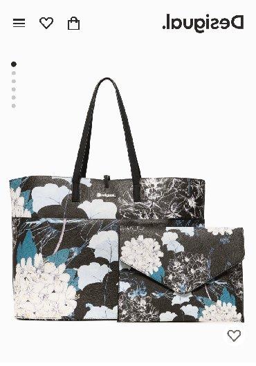 Avon-neseser - Srbija: Nova Desigual torba, sa etiketom i folijama na ruckama, ima i manju to