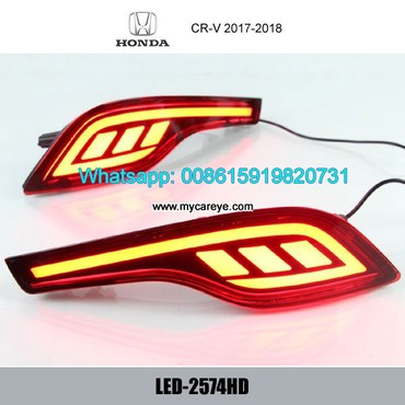 Honda CR-V CRV LED Bumper lamps taillight brake Backup Lights in Tīkapur