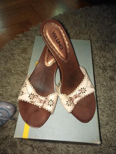 Zenske papuce broj 38,kratko nosene - Novi Sad