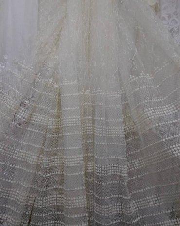 Kuća i bašta - Kragujevac: Kvalitetna turska zavesa sa velikom bordurom u krem boji!!! Za veći