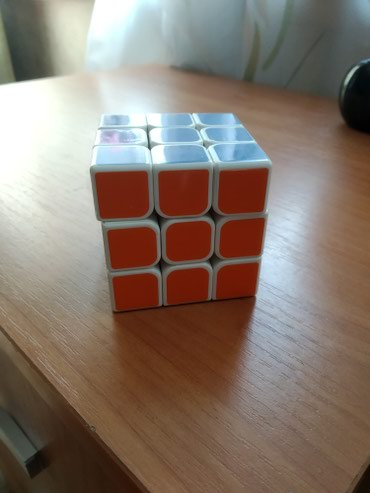 Продам кубик Рубика оригинал белый пластик