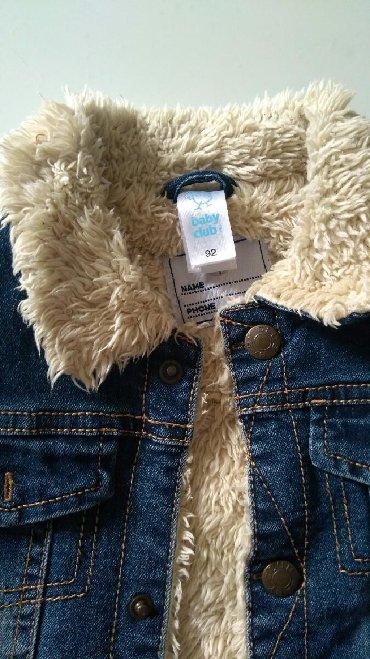 Dečije jakne i kaputi | Subotica: Hm teksas jakna za decake, postavljena, topla, kao nova, vel 92