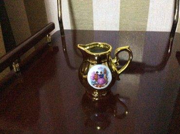 Bakı şəhərində продаю молочницу от кафейного сервиза. цена 10 ман.
