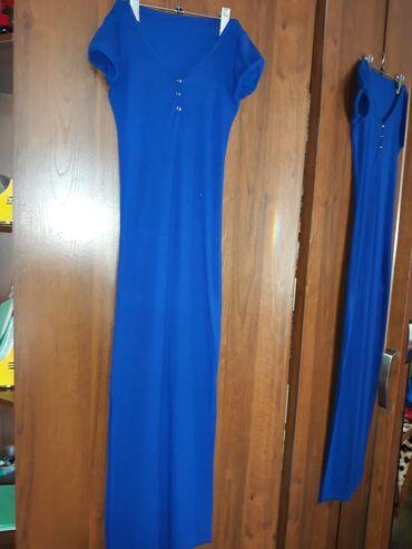 Платье в полРазмер 42Разрез до колен по обе стороныВозможен обменПо