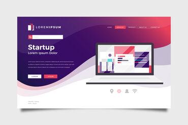 Закажите сайт бизнес-услуг. От 6 до 10 страниц . Логотип, красивый