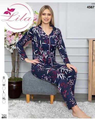 pijama - Azərbaycan: 25 azn pijama.materyal pambiq.Toptan satishda var