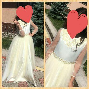 Праздничное платье от бренда baira для девочки 10-12 лет. Одевали 2