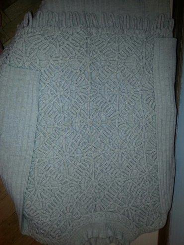 Drap vuneni djemper neobican kupljen u italiji -nov vel s-m - Belgrade