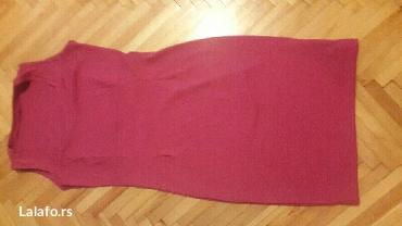 Roze haljina, materijal jako kvalitetan, vel l/xl - Pozarevac