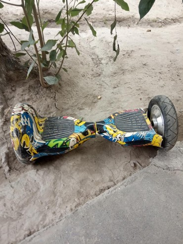 Спорт и отдых - Кызыл-Кия: 5000 сом продаётся героскутер в хорошем состоянии просто сломал крыло
