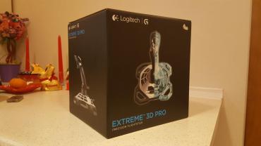 Bakı şəhərində Джойстик - logitech extreme 3d pro (open box) Новый в коробке, один