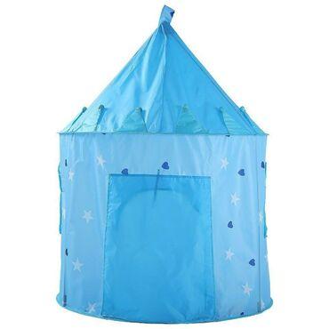 Mavi çadır ürəkli 135x105sm