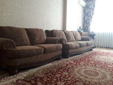 старенький диван в Кыргызстан: Диван. 2шт импортный польский