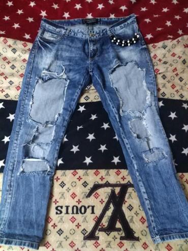 детские джинсы с дырками в Кыргызстан: Джинсы с оооогромными дырками. размер 28 ))) очень стильные. Турция