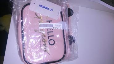 Lc waikiki firmasi kosmeticka çantası, qol cantasi kkmide istifade