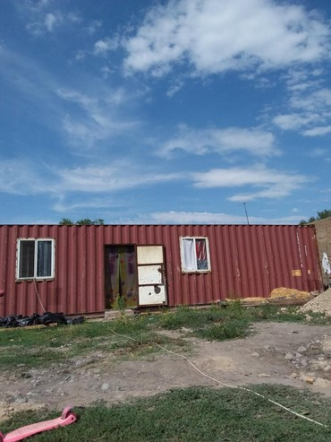 Оборудование для бизнеса в Кара-Балта: Продаётся контейнер морской 40 тонник утеплённый разделён на жилую и