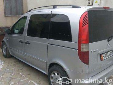 мерс. ванео 2002г об. 16 бензин 3800$ или меняю т.0550204303 в Бишкек