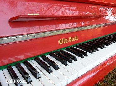 Bakı şəhərində Şik ve ferqlilik sevenler üçün - qırmızı rengde alman istehsalı piano