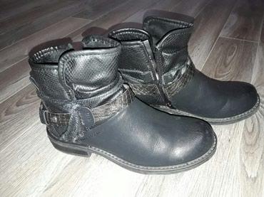Nove zenske cizme broj 39 prava koza, jednom obuvene zbog kupljenog - Ruma