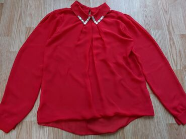 Crvena kosulja/bluza, s-m