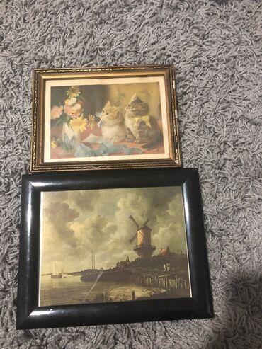 Kuća i bašta - Kula: Stare slike Cena za obe