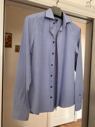 Рубашка совсем новая фасон Slim Fit размер М