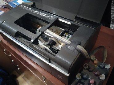 запчасти epson p50 в Кыргызстан: Цветной принтер- EPSON stylus Photo P50Состояние: идеальное