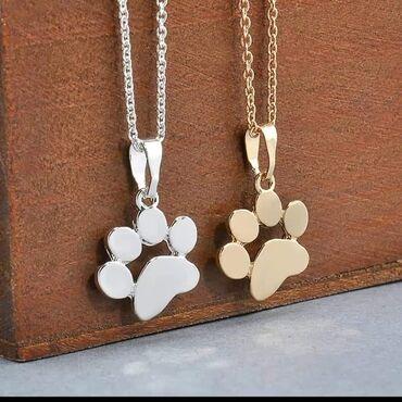 Ogrlica u zlatnoj i srebrnoj boji