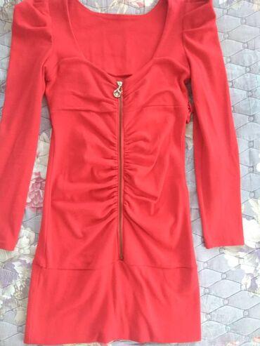 Платье-туника тёплое 44-46 в хорошем состоянии