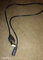 Bakı şəhərində Usb kabel - yenidir ve hec bir problemi yoxdur. Son qiymetdir!